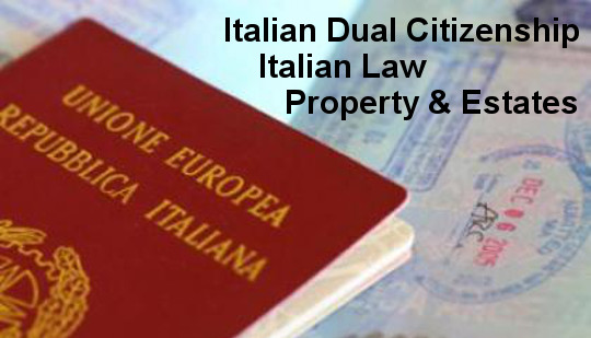 Italian Citizenship & Legal Work in Italy