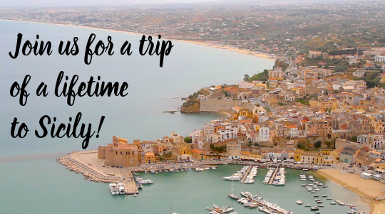 Travel to Sicily, Italy!